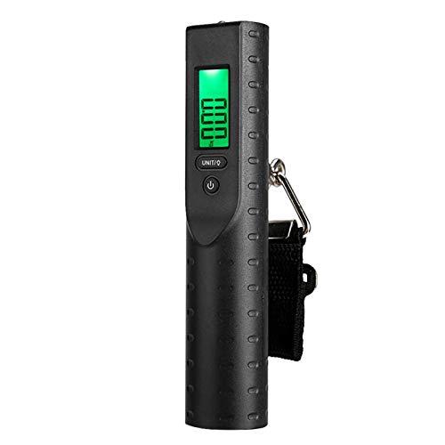 DAUERHAFT Gepäckwaage 3000Mah Mobiles Netzteil mit Powerbank und Beleuchtungsfunktionen für Reisende
