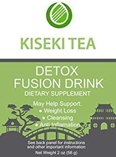 Kiseki Detox Tea for Weight Loss and Belly Fat - Organic Detox Tea 7 Day Supply - 9 All Natural Ingredients That Support Healthy Weight Loss, Body Cleansing, Clear Skin, Bloating and Digestive System