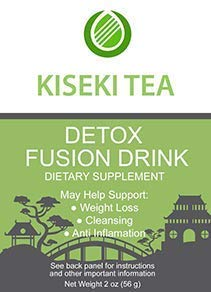 Kiseki Detox Tea - Get Fit and Skinny - Weight Loss and Body Cleanse - Organic Natural Ingredients, Supports Colon Cleanse, Reliefs Bloating, Constipation and Helps The Digestive System, Flats Tummy.