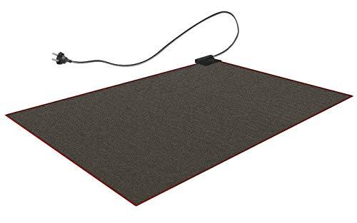 140x200cm alfombra de calefacción eléctrica alfombra calor electrica grande