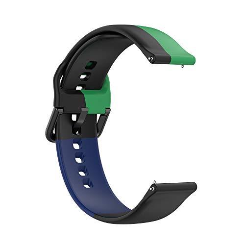 Correas de Reloj,3 Colores Correa para Fitbit Versa 2,Bandas Correa Repuesto,Flexible Silicona Reloj Recambio Brazalete Watch Correa Repuesto para Fitbit Versa 2/Versa /Versa lite/Blaze (color 5)