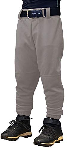 EASTON Youth PRO PULL UP Baseball Pant, Youth, XSmall, Grey