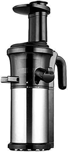 Máquinas de expresión, exprimidor de frutas de juicer portátil eléctrico, 200W de acero inoxidable Masticación de la máquina fría lenta y compacta extractor de vegetales exprimidor jugo de juicio frut