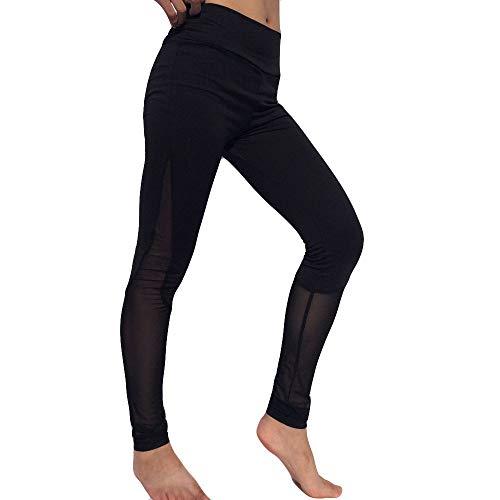 Deelin dameslegging modieus, zeer elastisch, gestreept, yoga, fitness