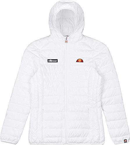 ellesse Jacke Damen LOMPARD Padded Jacket Weiss White, Größe:XS
