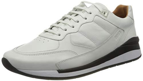 BOSS Herren Element_Runn_gr Sneaker, White100, 45
