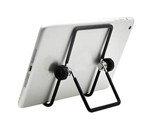 Soporte universal ajustable y plegable para tableta y teléfono móvil, teléfono inteligente (4-13 pulgadas), soporte de metal para tableta