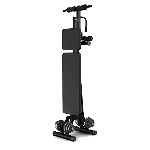 Fitness Equipment Adjustable Weight Bench Full Body Workout Foldable Incline Decline Exercise Workout Bench for Home Gym Dumbbell Bench Home Exercise