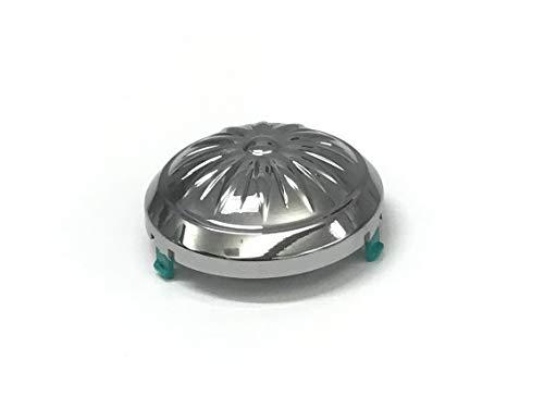 OEM Samsung Chrome Washing Machine Pulsator Washplate Cap Shipped With WA50K8600AW, WA50K8600AW/A2