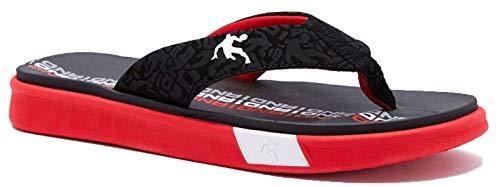 AND1 Black & Red Hoop Sandal (11)