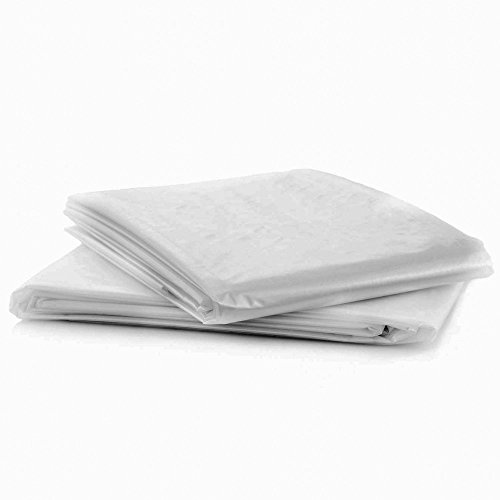 GroundMaster Single Mattress Cover Durable Protective Plastic Storage Bag