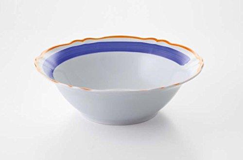 Fade 51125 Maison Giotto Saladier, diamètre 26 cm, Porcelaine, Bleu