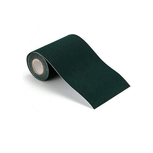 Vogueing Tool cinta de césped artificial, 1 cinta de costura de césped artificial sintética para unir la fijación de césped verde, alfombra de césped falsa, negro