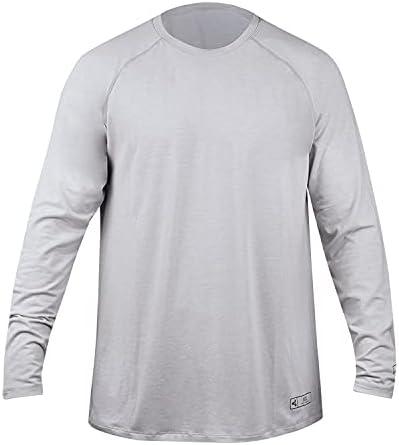 XCEL Mens Threadx Solid Long Sleeve Rashguard