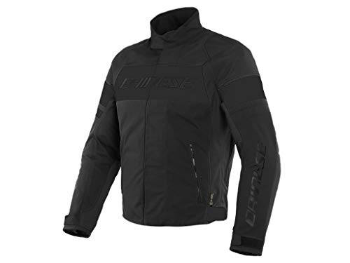 Dainese Motorradjacke Saetta D-Dry Jacket wasserdichte Jacke schwarz, 64