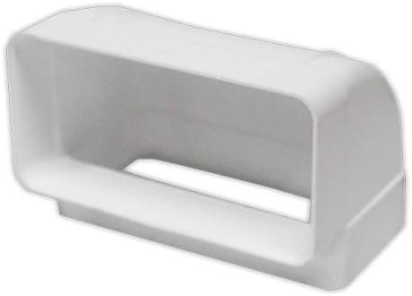 170x90 mm PVC ESTANDAR Codos DOJA Industrial Codo 45grados horizontal rectangul