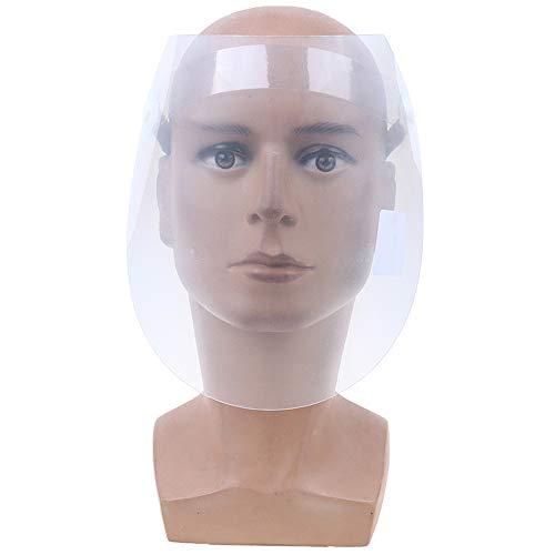 WANJIA Visera Protectora Seguridad Visor Transparente Protección Ocular Flip Up Máscara ignífuga con Marco Soldadura Ropa de Trabajo Pantalla de protección Facial Ligera,A