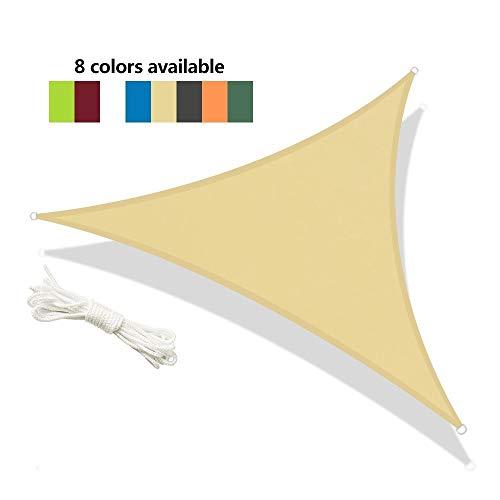 OZYN Triangle Sun Refugio Al Aire Libre Carpa 95% Anti-UV Protección Bloque Parasol Toldo De Vela Ligera del Pabellón De La PU Impermeable Lonas Comida Campestre Que Acampa