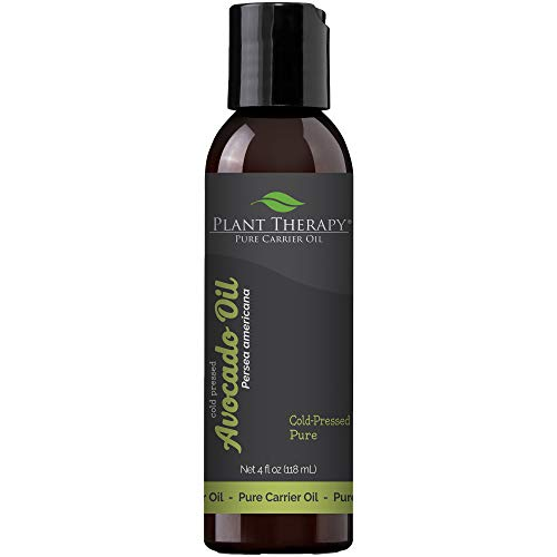 Plant Therapy Avocado Carrier Oil 4 oz A Base Oil for Aromatherapy, Essential Oil or Massage use
