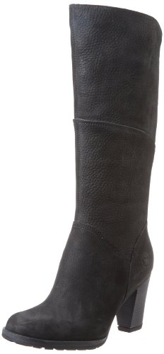 Hot Sale Timberland Women's Stratham Heights Tall Boot,Black,8 M US