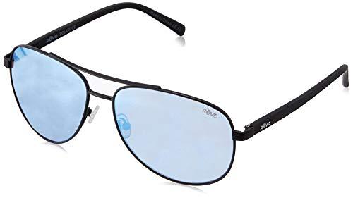 Revo Polarized Sunglasses Tate Soft Rectangle Frame 61 mm