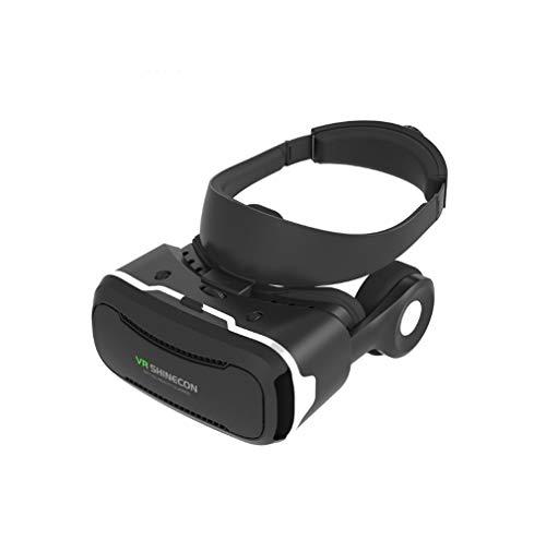 SMSOM Auriculares VR, Gafas de Realidad Virtual de la Realidad Virtual de la Protección Ojos 3D con un Reloj cómodo 360 películas para Android, iPhone (Solo por 4.7-6.53 Pulgadas)
