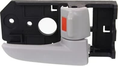 OE Replacement Front or Rear Passenger Side Gray Interior Door Handle with Door Lock Button for Kia - REPK462341