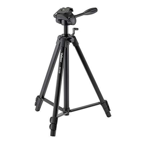 Velbon EX-530 Aluminium Dreibein-Stativ (Höhe 156 cm, Belastbarkeit 2 kg)