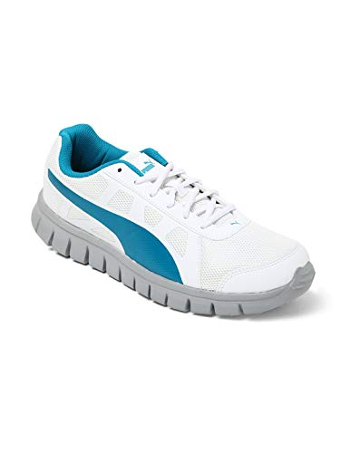 Puma Unisex's White-Hawaiian Ocean-Quarry Running Shoes-9...