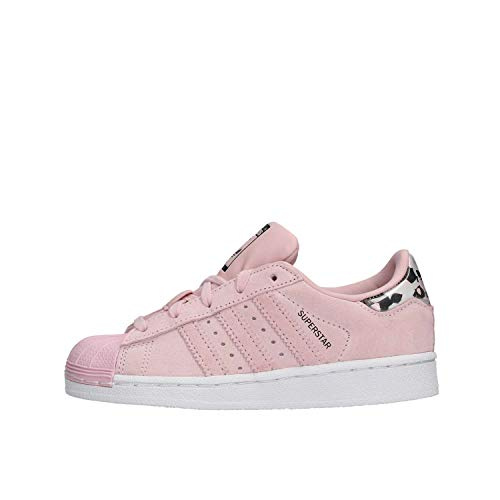 adidas Unisex-Kinder Superstar C-B37279 Fitnessschuhe, Pink (Rosa 000), 28 EU