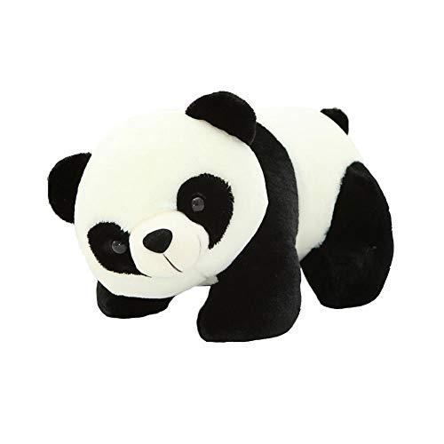 Gespout Stofftier Kuscheltier Puppe Riesenpanda Plüschtier Plüschkissen Spielzeug Geschenk gefüllt für Kinder Mädchen Jungen Schmusetier