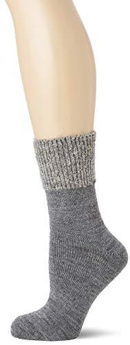 Camano Damen 1102004 Socken, Grau (Dark Grey Melange 9700), (Herstellergröße: 39/42)