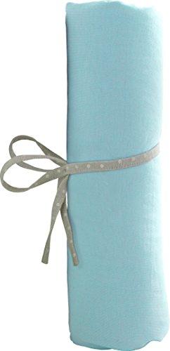 babyCalin Drap Housse Turquoise 70 x 140 cm