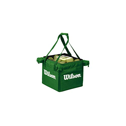 Wilson Teaching, Cesto da Tennis, capacità 150 Palline Unisex – Adulto, Lime, Taglia Unica