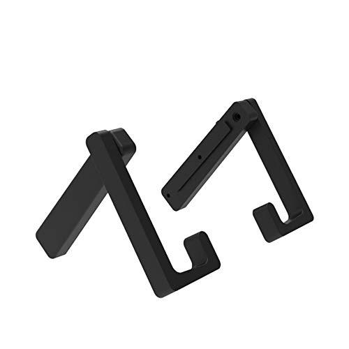 ORIYUKKI Soporte para automóvil, Soporte para Tableta, Soporte para Montaje en automóvil, Soporte de Escritorio Ajustable, Sin Soporte magnético, Accesorios Antideslizantes 2 en 1 para Interruptor