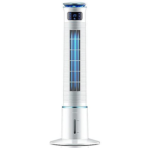Aire acondicionado de pie, 3 bloques de velocidad del viento, toque inteligente, refrigeración de humidificación, operación simple, pantalla de extinción automática, ventilador de enfriamiento de agua