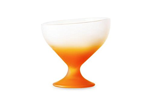 Bormioli Rocco Lot de 2 Coupelles en Verre Orange-23 cl