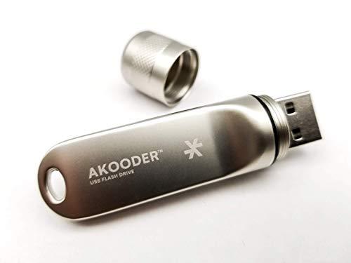 Waterproof Flash Drive 64GB USB 2.0 Rugged Aluminum Housing Memory Stick Thumb Drive Zip Drive Jump Drive FCC & CE Certified Great Value