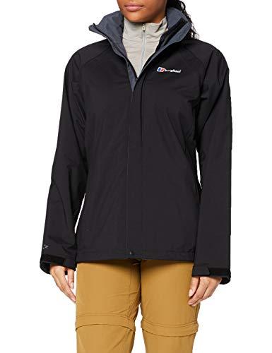 Berghaus Damen Regenjacke Calisto Alpha Jacket, Schwarz, 12