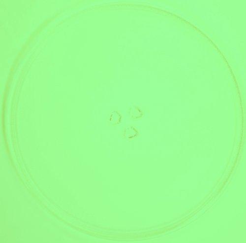 Mikrowellenteller / Drehteller / Glasteller für Mikrowelle # ersetzt Lloyds Mikrowellenteller # Durchmesser Ø 34 cm / 340 mm # Ersatzteller # Ersatzteil für die Mikrowelle # Ersatz-Drehteller # OHNE Drehring # OHNE Drehkreuz # OHNE Mitnehmer