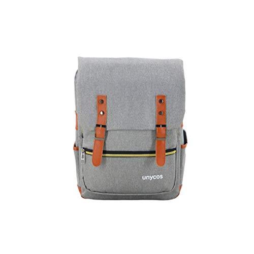 unycos - Mochila para Portátil - Mochila con Puerto USB para Hombre o Mujer - Unisex -...