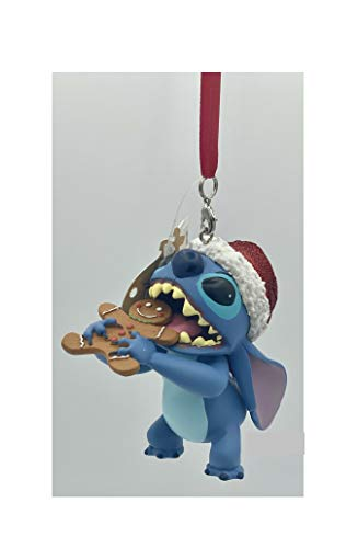 New 2020 Disney Parks Stitch with Gingerbread Cookie Christmas Holiday Ornament