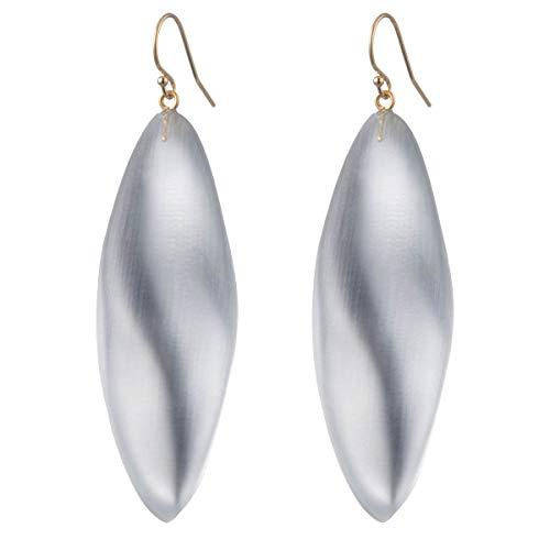 Alexis Bittar Women's Long Leaf Earrings