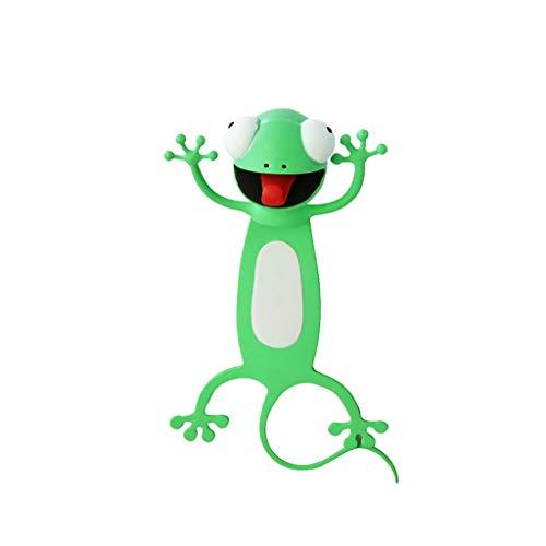 Tier-Lesezeichen, 3D-Stereo-Lesezeichen, Kawaii, Cartoon, niedlich, lustiges Lesezeichen, für Büro, Schule, Geschenk, für Studenten, Schriftsteller, Leser Gr. M, a