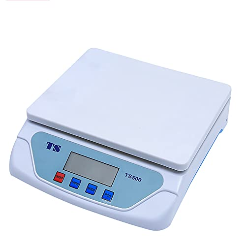 FGDFGDG Electronic Scales 25kg/1g Digital Kitchen Scales Slim Design Electronic Cooking Scale For Home Weigh Food (Color : White, Size : 230x240x63mm) Kitchen Scales