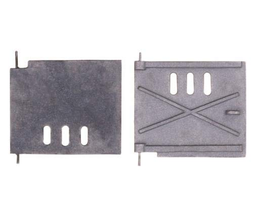 QLS Ofentür Backofentür Kachelofentür Gusseisen Schürtür Revisionstür 20 x 17 cm