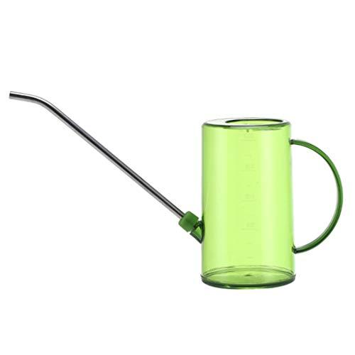 Angelliu Plastic Gieter Met Tik, Grote Capaciteit Met Long Uitloop Roestvrij Gieter Tuin Sprinkler 1000mL