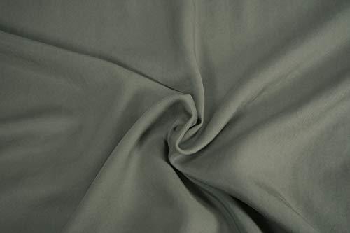 Mollipolli Gabardine - Tela de Rizo (0,5 m), Color Beige Oscuro