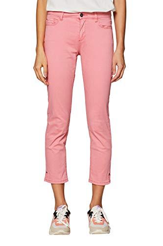 ESPRIT Damen 039EE1B019 Hose, Rosa (Pink 670), W38(Herstellergröße: 38/22)