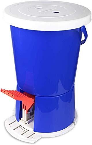 Mini Waschmaschine / Mini Pedal Waschmaschine, bewegliches Pedal Powered Spin Waschmaschine Nicht elektrische Waschmaschine Compact Reiniger zum Camping for Haushalt und Wohnung. /automatische Waschma